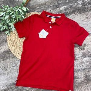 NWT Gymboree red polo shirt size 8
